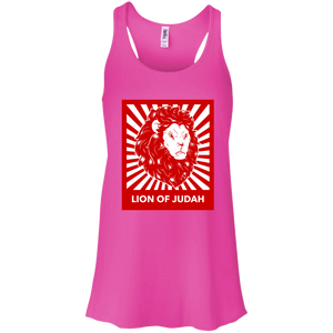 Lion Of Judah Flow Racerback