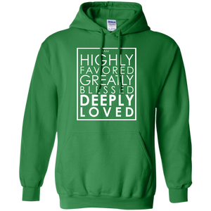 Deeply Loved Hoodie (light print)