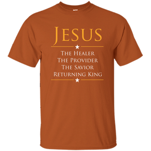 Jesus - Healer, Provider, Savior, Returning King