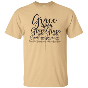 Grace Upon Grace Tee (dark print)