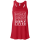 Deeply Loved Racerback (light print)