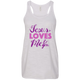 Jesus Loves Me and You Racerback
