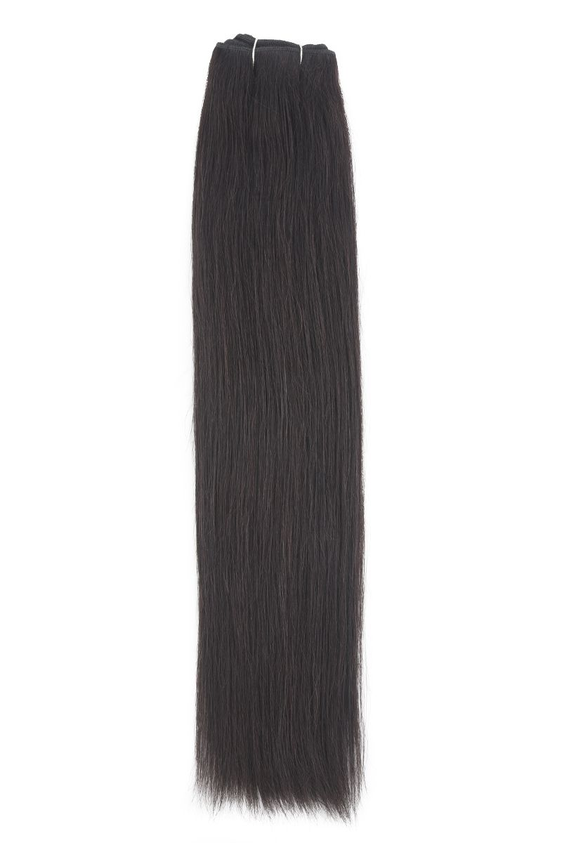 "20"" Remy Couture Natural Black 1B"