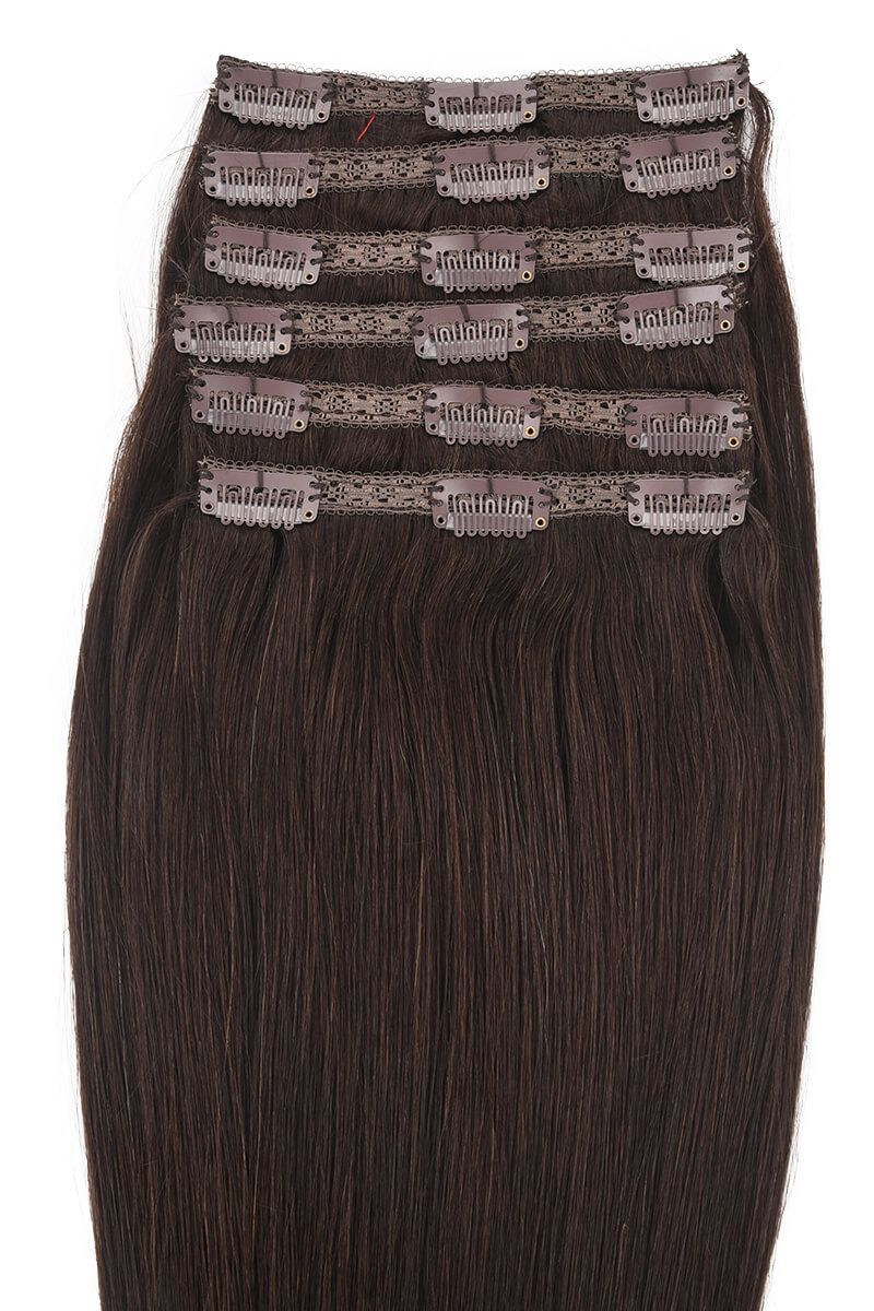 "POSE ClipIn 18"" Dark Brown 2"
