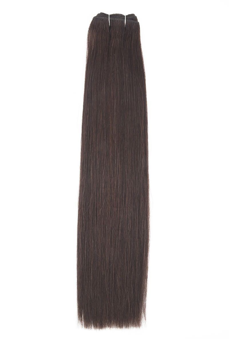 "14"" Remy Couture Dark Brown 2"