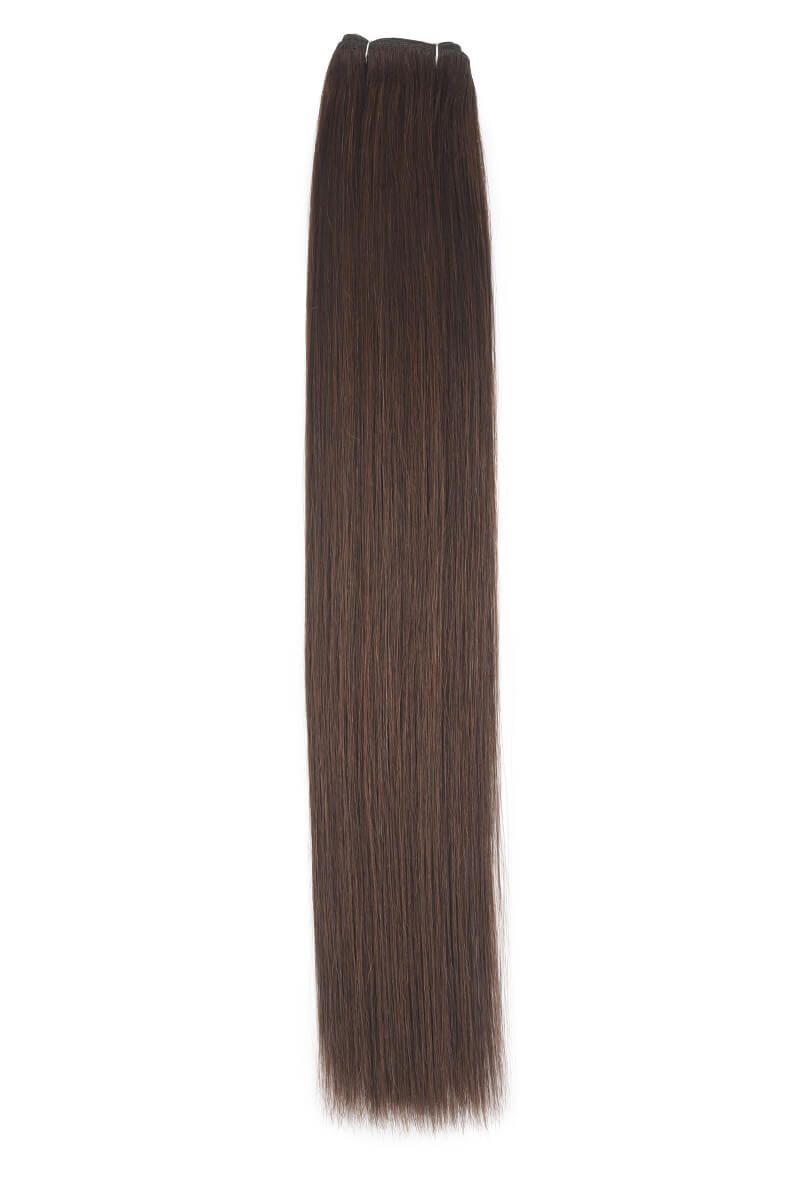 "14"" Remy Couture Choc Brown 4"