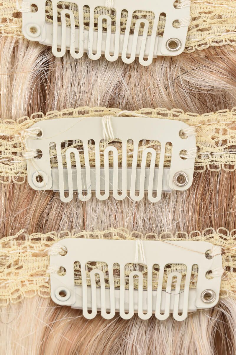 "ClipIn 20"" Champagne Blonde P18/613"