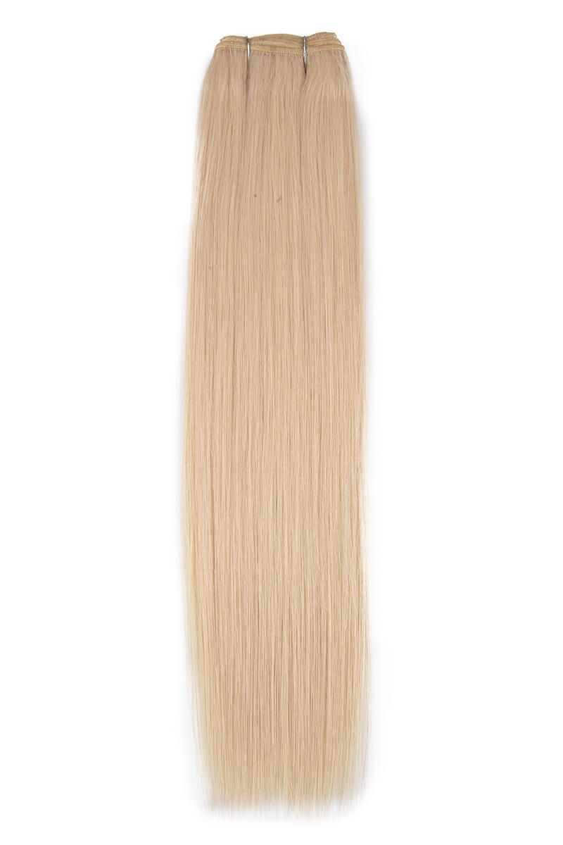 "18"" Remy Luxe Rock Chick Blonde 613"
