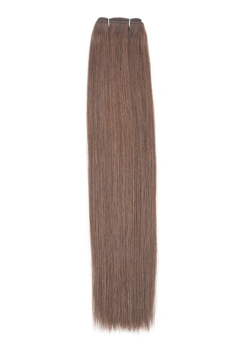 "18"" Remy Couture  Natural Brown 6"