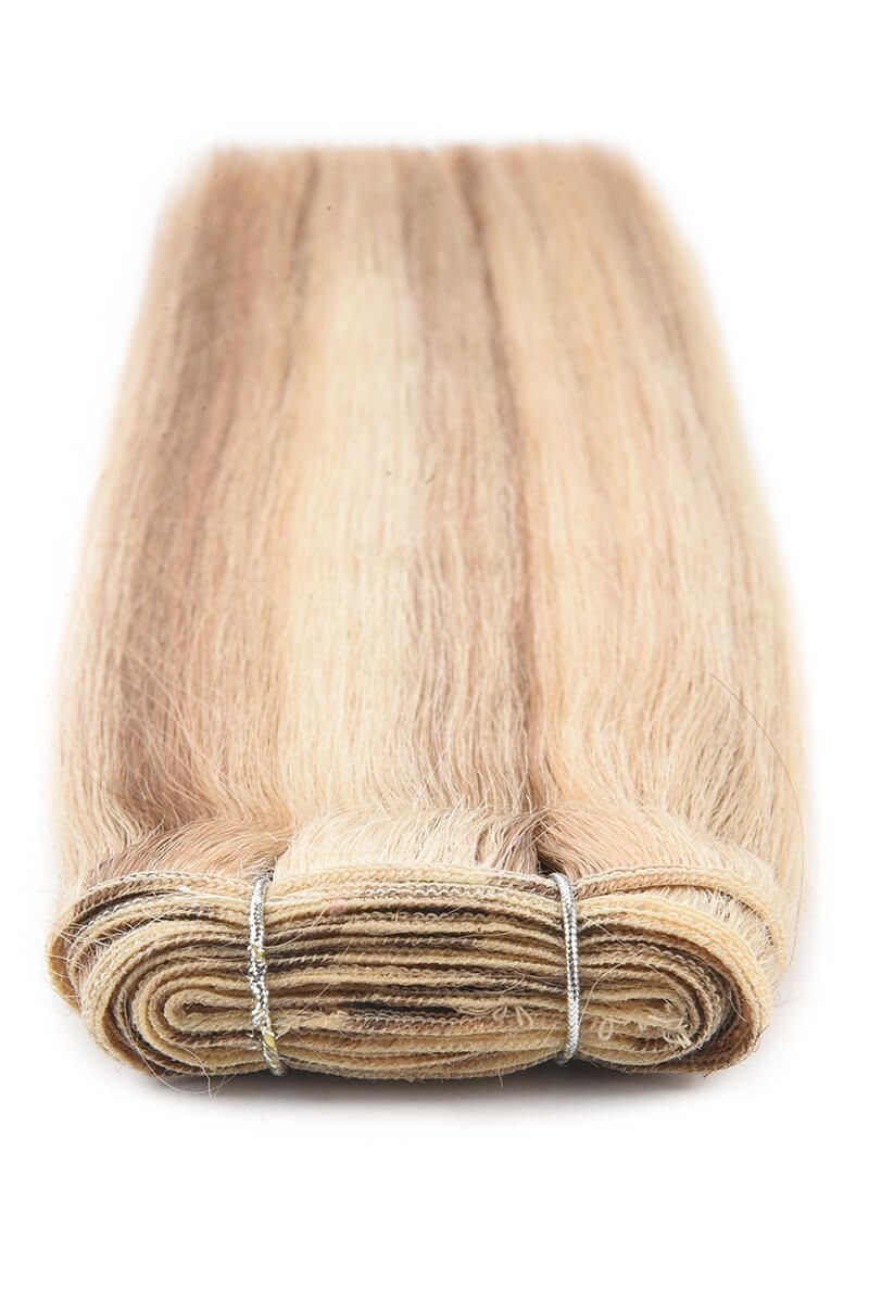 "18"" Remy Luxe Sunkissed Blonde P12/16/613"