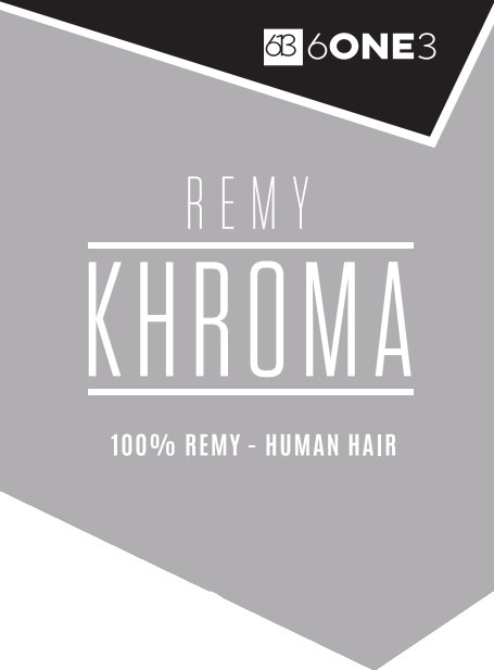 "18"" Khroma ClipIn Natural Black 1B"