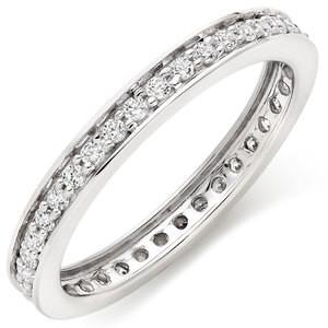 Eternity Band With Round Stones In 3 Carat Total Weight.