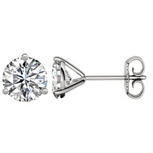 PLATINUM 950 3-PRONG ROUND. Choose From 0.25 CTW To 10.00 CTW