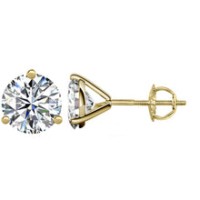 14 KARAT YELLOW GOLD 3-PRONG ROUND 1.50 C.T.W