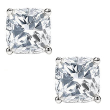 18 KARAT WHITE GOLD CUSHION. Choose From 0.25 CTW To 10.00 CTW