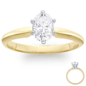 Choose in 14 KT Gold, 18 KT Gold or Platinum 950 - Build Your Ring