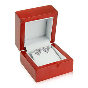 14 KARAT WHITE GOLD HEART 4.00 C.T.W