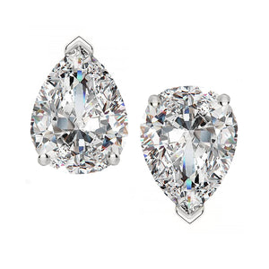 14 KARAT WHITE GOLD PEAR 2.00 C.T.W