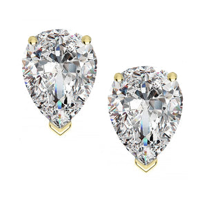 14 KARAT YELLOW GOLD PEAR 0.25 C.T.W
