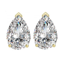 14 KARAT YELLOW GOLD PEAR 1.50 C.T.W