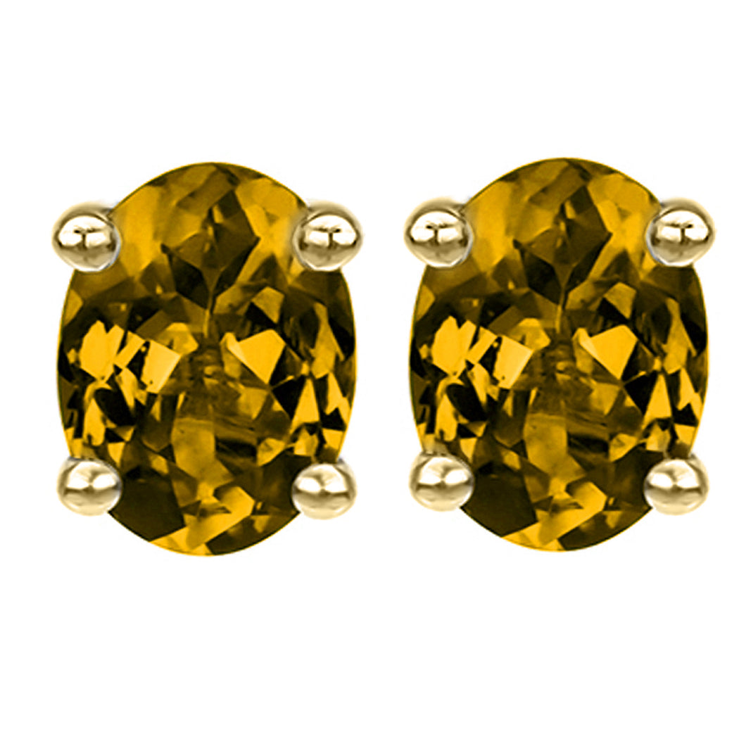14 KARAT YELLOW CITRINE OVAL. Choose From 0.25 CTW To 10.00 CTW