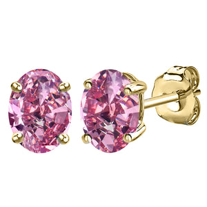 14 KARAT YELLOW PINK TOURMALINE OVAL. Choose From 0.25 CTW To 10.00 CTW