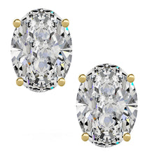 14 KARAT YELLOW GOLD OVAL 10.00 C.T.W