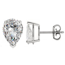 PLATINUM 950 PEAR. Choose From 0.25 CTW To 10.00 CTW