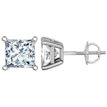 18 KARAT WHITE GOLD PRINCESS. Choose From 0.25 CTW To 10.00 CTW