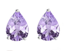 14 KARAT WHITE GOLD ALEXANDRITE PEAR. Choose From 0.25 CTW To 10.00 CTW