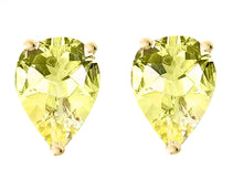 14 KARAT YELLOW GOLD CANARY PEAR. Choose From 0.25 CTW To 10.00 CTW