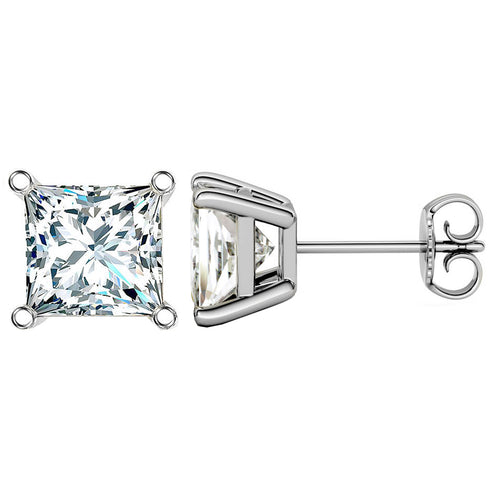 14 KARAT WHITE GOLD PRINCESS 10.00 C.T.W
