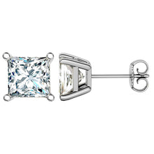 14 KARAT WHITE GOLD PRINCESS 14.00 C.T.W