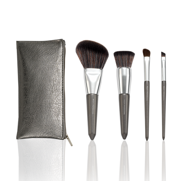 The Luxe Metal Travel Set