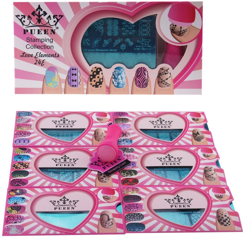 Love Element Nail Art Collection by PUEEN