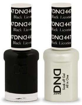 DND Nail Polish Black