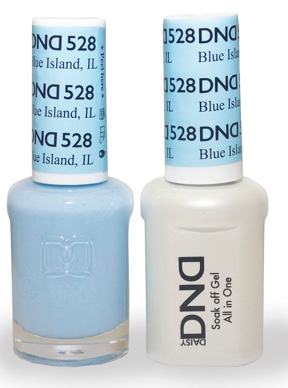 DND Nail Polish Blue