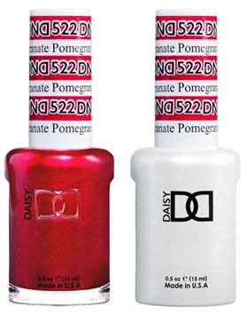 DND Gel Polish Red