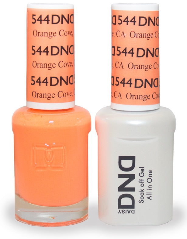 DND Nail Polish Orange