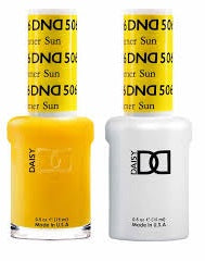 DND Nail Polish Yellow