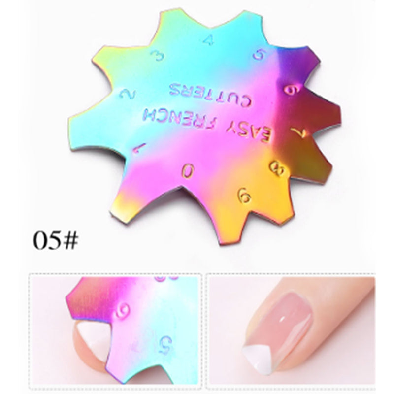 1 PCS French Smile Line Edge Trimmer Cutter Acrylic Nail Tips - GJ0466-05