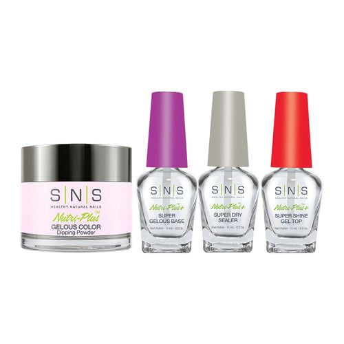 SNS - Gelous Base, Sealer, Gel Top, Dip Powder Combo - 366 - 1oz