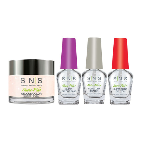 SNS - Gelous Base, Sealer, Gel Top, Dip Powder Combo - 368 - 1oz