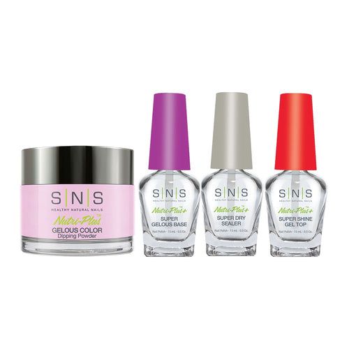 SNS - Gelous Base, Sealer, Gel Top, Dip Powder Combo - 380 - 1oz