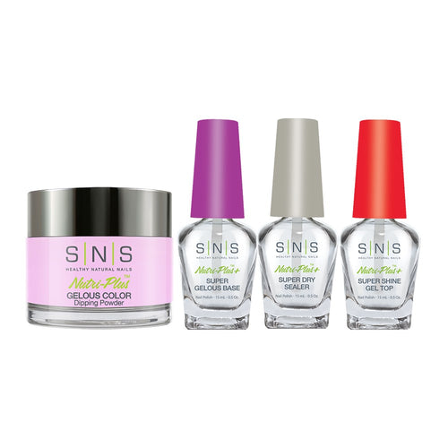 SNS - Gelous Base, Sealer, Gel Top, Dip Powder Combo - 388 - 1oz