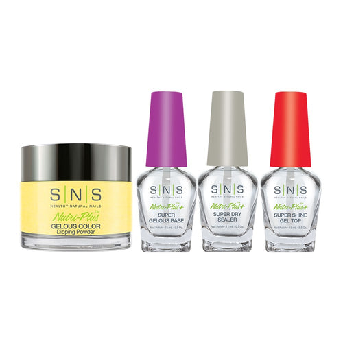 SNS - Gelous Base, Sealer, Gel Top, Dip Powder Combo - 389 - 1oz