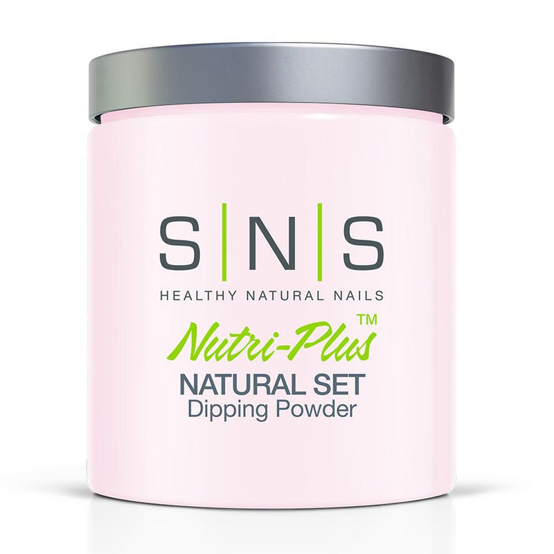 SNS Natural Set Dipping Power Pink & White - 16oz
