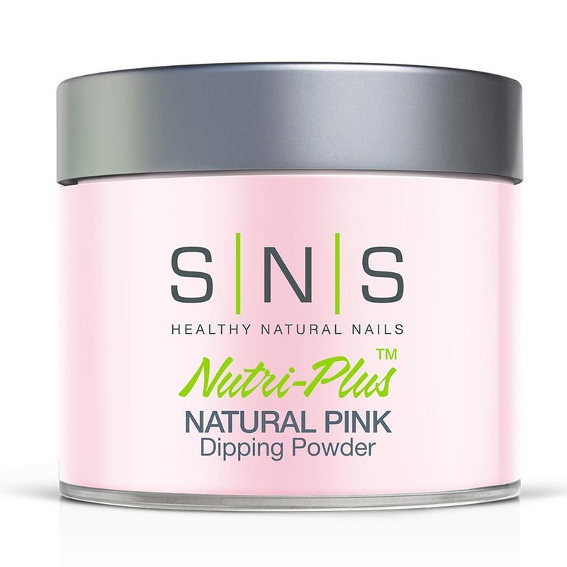 SNS Natural Pink Dipping Power Pink & White - 4oz