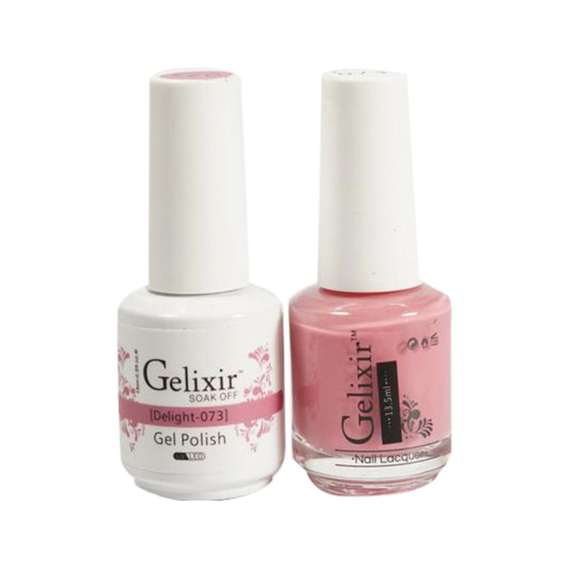 Gelixir 073 Delight - Gel Nail Polish 0.5 oz