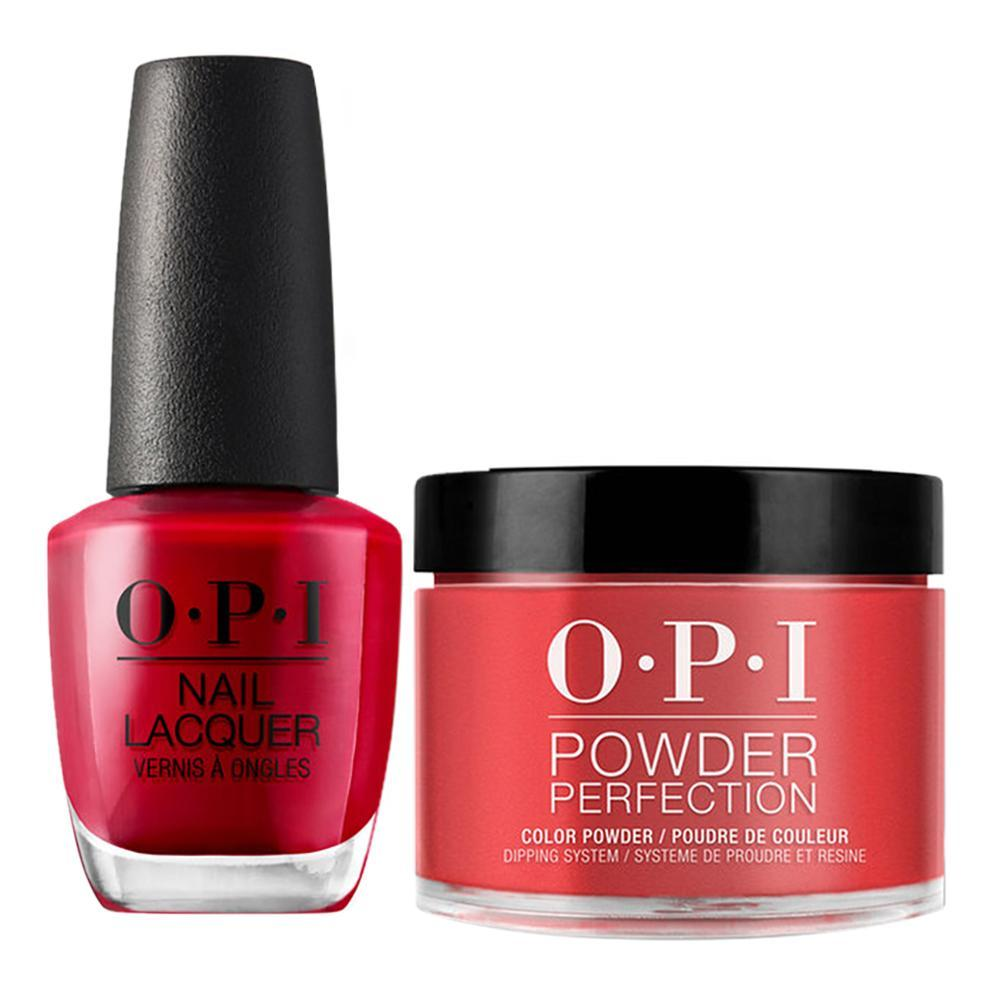OPI - Dip & Lacquer Combo - A16 The Thrill Of Brazil